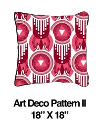 Art Deco Pattern Pink